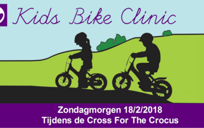 Kids Bike Clinic tijdens de Cross 18/2/2018